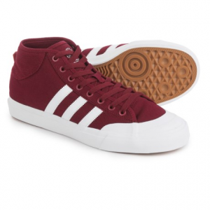 Image of adidas Matchcourt Mid Shoes - Canvas (For Men)