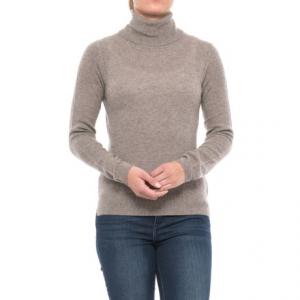 Image of Adrienne Vittadini Cashmere Turtleneck Sweater (For Women)