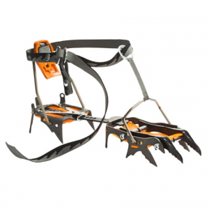 c.a.m.p. usa cassin c14 crampons- Save 39% Off - CLOSEOUTS . C.A.M.P. USA C14 crampons offer 6 points of adjustment and are suitable for mountaineering trips that include both ice and rock. The chromoly steel frame fits most technical boots and includes anti-balling plates. Available Colors: SEE PHOTO. Sizes: ONE SIZE.