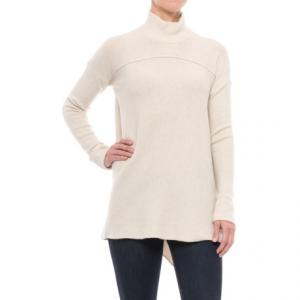 Image of Artisan NY Mock Neck Tunic Sweater (For Women)