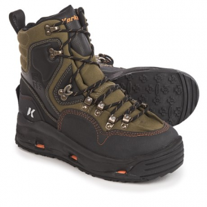 Image of Korkers K-5 Bomber Wading Boots - Interchangeable Outsoles (For Men)