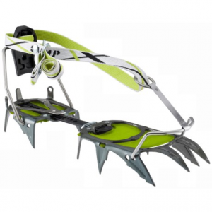 c.a.m.p. usa c12 automatic crampons- Save 39% Off - CLOSEOUTS . C.A.M.P. USA C12 automatic crampons are built for advanced mountaineering and alpine routes, offering a secure fit for rigid boot styles. They feature strong chromoly steel spikes with slightly flared points to reduce balling. Available Colors: GREEN/GRAPHITE.