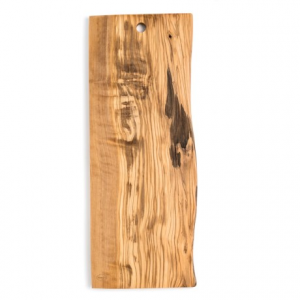 Image of Enrico Olive Wood Live Edge Cutting Board - Large