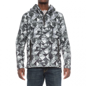 Image of Jack Wolfskin Tech Lab Carrara Marble Smock Wind Jacket - Zip Neck (For Men)