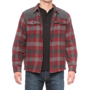 Image of Coleman Sherpa-Lined Flannel Shirt Jacket (For Men)