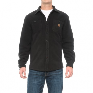 Image of Coleman Solid Sherpa Bonded-Fleece Shirt Jacket (For Men)