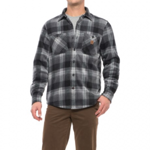 Image of Coleman Printed Sherpa Bonded-Fleece Shirt Jacket (For Men)