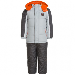Image of iXtreme Stripe Sleeve Color-Block Snowsuit - Insulated (For Toddler Boys)