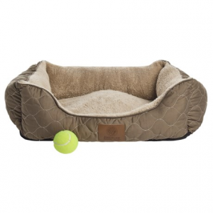 Image of AKC Circle Stitch Orthopedic Cuddler Dog Bed - 25x21?