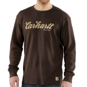 Image of Carhartt Graphic T-Shirt - Long Sleeve, Factory Seconds (For Big and Tall Men)