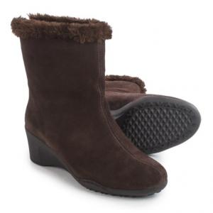Image of Aerosoles Attorney Boots - Suede, Wedge Heel (For Women)