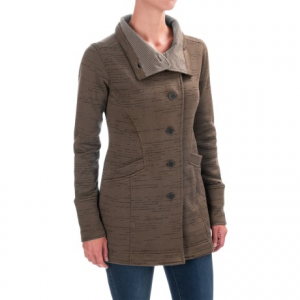 Image of Avalanche Opal Long Button-Front Sweater (For Women)