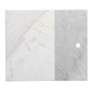 Image of Core Bamboo Medici Two-Tone Marble Serving Board