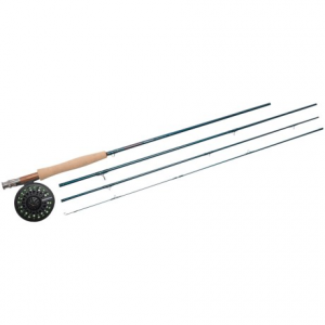Image of Redington Crosswater Rod and Reel Outfit - 4-Piece