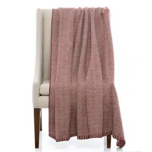 Image of Bambeco Maze Print Wool Throw Blanket - 51x71?