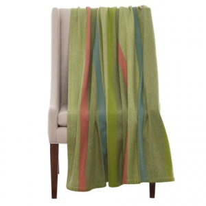 Image of Bambeco Fine Print Wool Throw Blanket - 51x71?