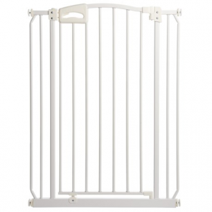 Image of Four Paws Metal Auto-Closing Dog Gate - Extra Tall