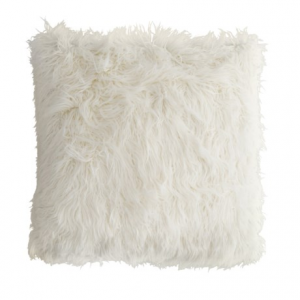 Image of Cynthia Rowley Faux-Mongolian-Fur Throw Pillow - 26x26?