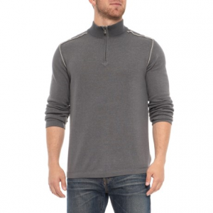 Image of Ecoths Noah Sweater - Organic Cotton, Zip Neck (For Men)