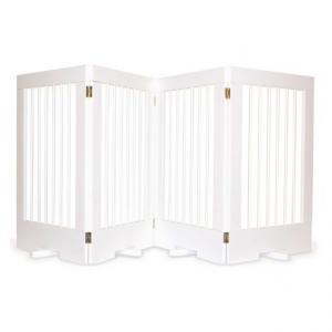 Image of Cardinal Gates 4-Panel Freestanding Pet Gate