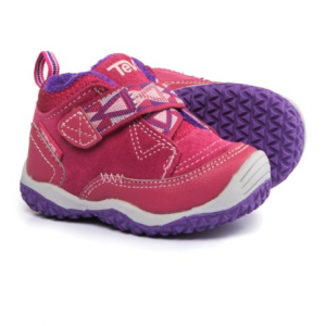 Image of Teva Natoma Sneakers - Suede, Fleece Lined (For Infant and Toddler Girls)