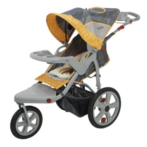 Image of InStep Grand Safari Swivel-Wheel Jogging Stroller