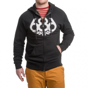 Image of 686 Wreath Full-Zip Hoodie (For Men)