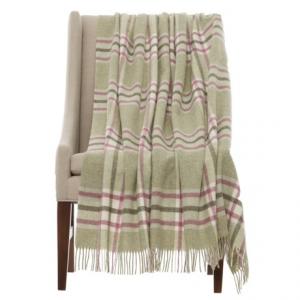 Image of Bronte by Moon Arncliffe Shetland Wool Throw Blanket - 55x72?