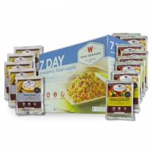 wise company emergency food supply - 7-day- Save 28% Off - CLOSEOUTS . Whether youand#39;re stocking up for a summer of backpacking, or you just want to be prepared for the worst, this Wise Company Emergency Food Supply features at least seven daysand#39; worth of food to keep you fed. Available Colors: SEE PHOTO.