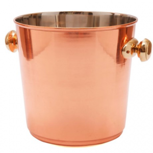 Image of Old Dutch International Decor Copper Wine Cooler - 3.5 qt.