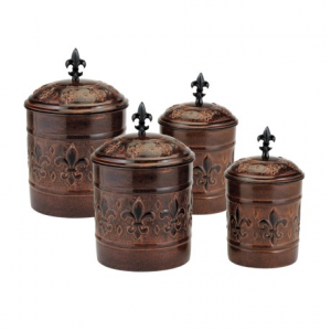 Image of Old Dutch International Versailles Canister Set - 4-Piece