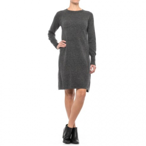 Image of Artisan NY A-Line Knit Dress - Long Sleeve (For Women)