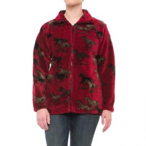 Image of Black Mountain Lightweight Fleece Jacket (For Women)