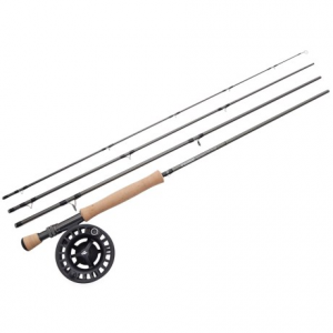 Image of Sage Approach Fly Rod with Reel Outfit - 4-Piece Rod, 9?, 9wt
