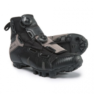 lake cycling mx145 mountain bike shoes - spd (for men)- Save 42% Off - CLOSEOUTS . Lake Cyclingand#39;s MX145 mountain bike shoes prioritize comfort without sacrificing performance for aggressive riders who spend long days in the saddle. The dual BOAand#174; adjustment system means you always get that perfect dialed-in fit, and the HYPERgripand#174; Enduro outsole with Ice Lock anti-slip lugs grip securely onto any surface. Available Colors: BLACK/GREY, BLACK/OLIVE. Sizes: 36, 37, 38, 40, 41, 42, 43, 44, 48, 50, 39, 46, 47.