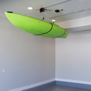 mylifter kayak lifting kit- Save 43% Off - CLOSEOUTS . No more fumbling with your kayak and annoying ceiling racks or bungee cords -- MyLifterand#39;s Kayak Lifting Kit does all the work for you while you control it from your smartphone! It lifts up to 100 pounds with a unique motorized pulley system and mounts easily on your garage ceiling. Available Colors: SEE PHOTO.