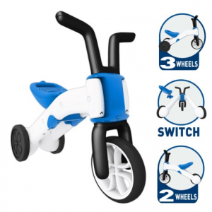 Image of Chillafish Bunzi 2-in-1 Gradual Balance Bike and Tricycle (For Little Kids)