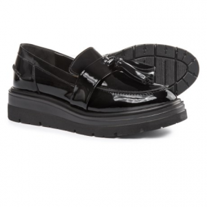 Image of Anna Fidanza Double Tassel Moccasins - Patent Leather (For Women)