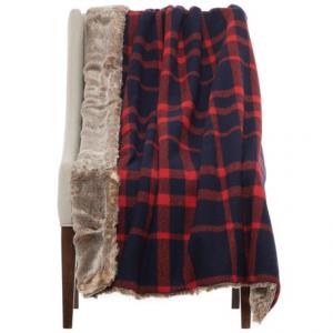 Image of Artisan de Luxe Faux-Fur Reversible Throw Blanket - 50x60?