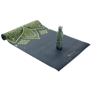 gaiam keep your cool water bottle and yoga mat set - 6mm mat- Save 37% Off - CLOSEOUTS . Gaiamand#39;s Keep Your Cool set includes a cushy, slip-resistant 6mm yoga mat and an insulated 17 fl.oz. stainless steel water bottle -- both graced with a pretty mandala print thatand#39;s sure to help you find your zen.