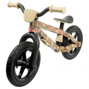 chillafish bmxie balance bike (for little kids)- Save 33% Off - CLOSEOUTS . Styled to look like a mini-BMX, this Chillafish BMXIE balance bike is a super-cute, super-fun way to teach young children balance and steering skills that theyand#39;ll keep for the rest of their lives. The airless Rubberskinand#174; tires will never go flat, the seat easily adjusts without tools, and the included decal set lets the proud owner customize the look to his own tastes. Available Colors: COMMANDER IN PEACE, SERGEANT HEARTS.