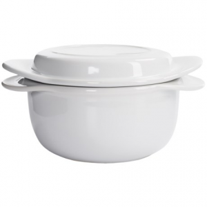 Image of Chantal Make and Take Round Ceramic Casserole Dish with Lid