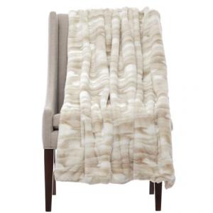 Image of Artisan de Luxe Kylie Faux-Fur Throw Blanket - 50x60?