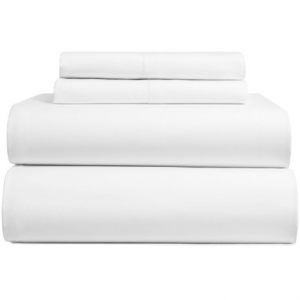 Image of Bambeco Sateen Solid Sheet Set - Full, Organic Cotton, 300 TC