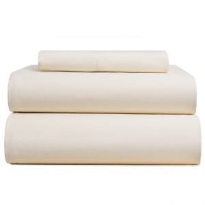 Image of Bambeco Sateen Solid Sheet Set - Twin, Organic Cotton, 300 TC
