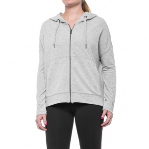 Image of 90 Degree by Reflex Missy Brushed Terry Hoodie - Full Zip (For Women)
