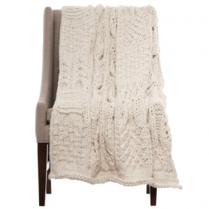 Image of Artisan de Luxe Jane Patchwork Throw Blanket - 40x60?