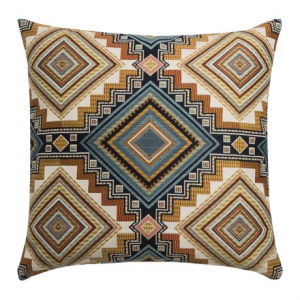 Image of Canaan Abrieta Geometric Decorative Pillow - 24x24?, Feather-Down