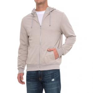Image of Alternative Apparel Eco-Mock Twist Hoodie - Zip Front (For Men)