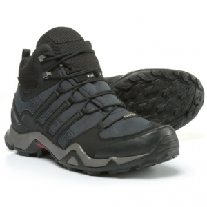Image of adidas outdoor Terrex Swift R Gore-Tex(R) XCR(R) Mid Hiking Boots - Waterproof (For Men)
